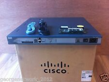 CISCO 2811 AC-IP 512D/1GB CCNA CCNP CCIE LAB IOS 15 CME 8.6 + AIM-CUE 50 Users