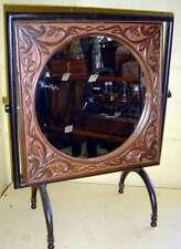 Gimbled Round Duchess Mirror Frame on Iron Stand 36x48cm