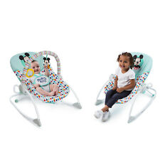 Bright Starts Disney Baby Mickey Mouse Infant To Toddler Rocker Seat - Happy