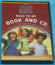 Disney High School Musical Read to Me Book & CD With Original Movie Voices 'New'