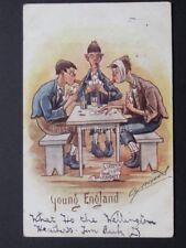 Cynicus: Gambling, Smoking, Drinking Youth Theme YOUNG ENGLAND c1905