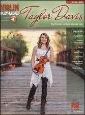 Taylor Davis Violin Play-Along Sheet Music Book with Audio Dragonborn