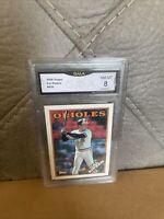1988 Topps Cal Ripken Jr. #650 Baseball Card Baltimore Orioles GMA 8 NM-MT+