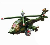 Military Army Helicopter Custom Lego Set