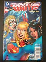 JUSTICE LEAGUE UNITED #4c Selfie Variant (2014 New 52, DC Comics) ~ VF/NM Book