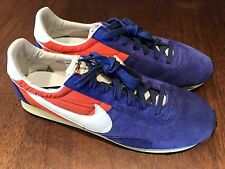 New Nike Pre Montreal Racer Vintage VNTG Mens Shoes Sz 12 Blue Orange 476717-401