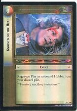 Lord Of The Rings CCG Foil Card TTT 4.C308 Knocked On The Head
