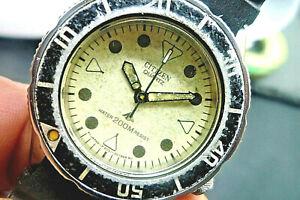 CITIZEN 200m  Lady Diver Lumibrite 2031-205871 Quartz Vintage 1995 32mm Watch