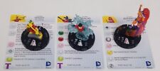 Heroclix Monthly OP Kit Teen Titans COMPLETE lot of 3 LE figures w/cards!