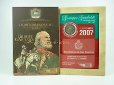 *** 2 EURO Gedenkmünze SAN MARINO 2007 Giuseppe Garibaldi Coin Münze KMS ***