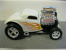 Muscle Machines MM Ford Coupe White RR M2 HW Hot Wheels Real Riders 1/64 Loose