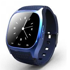 M26 SMARTWATCH BLU TOUCHSCREEN BLUETOOTH orologio VIVAVOCE android e IOS - BLU