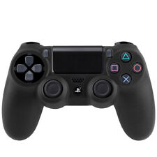 Sony playstation 4 contrôleur ps4 Housse étui silicone souple mat Housse de protection Noir