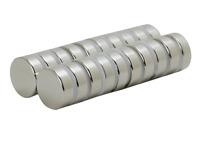 20x Neodym Magnet Scheibe D15x5 mm N52 8kg Zugkraft - Metallverarbeitung stark