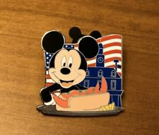 Disney World Epcot Food & Wine Mickey Mouse Lobster Roll American Adventure Pin