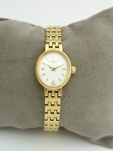 ROTARY WOMENS WATCH LB02084/02 GOLD STAINLESS STEEL BRACELET GENUINE