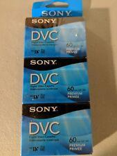 Sony DVC Digital Video Cassette 60-minute Premium 3 pack