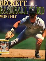 Beckett Baseball Card Monthly Magazine Issue #62 May 1990 Don Mattingly
