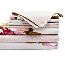 ANNE DE SOLENE Paris Lady Rose 3pc Queen Fitted Sheet + 2 Standard Pillowcase NW