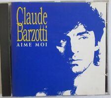 """RARE Claude Barzotti """"Aime moi"""" CD 1OT elle me tue,chansons d enfance,noel"""