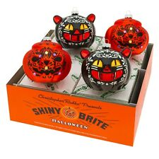 Christopher Radko Ornaments - Halloween 4 Count Cats and Pumpkins 4027909