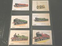 1976 TRAINS RAILWAY Caramac Rountree  Locomotive complete trade card set 42