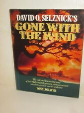 DAVID O SELZNICK'S GONE WITH THE WIND MOVIE STORY BEHIND PRODUCTION BOOK GWTW
