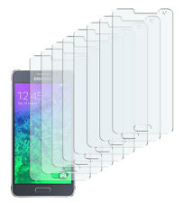 8 x Schutzfolie Samsung Galaxy Alpha Klar Displayschutzfolie Screen Protector