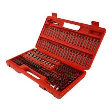 Sunex Tools Master Power Drill Bit Set Service Kit 208 Piece w Blow Molded Case