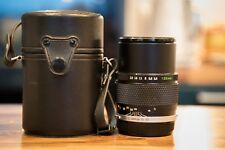 Olympus Zuiko 135mm 3.5 Telephoto Portrait Lens for OM fit with case