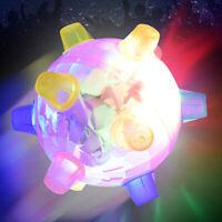Funny Flashing Bouncing Ball LED Light Dancing Music Ball Toy Gift for Boys Girl