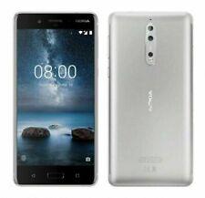 NOKIA 8 64GB - Débloqué Téléphone - Argenté - Android Smartphone Warranty WIFI