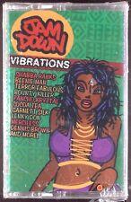 Various - Jam Down Vibrations LP CASSETTE REGGAE DANCEHALL COCOA TEA SEALED OOP