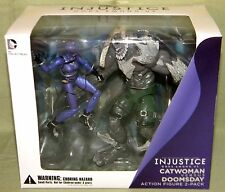 "DC Collectables CATWOMAN VS. DOOMSDAY 2-Pack 3.75"" Figure Line INJUSTICE"