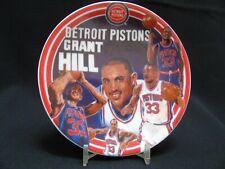 "1995 Sports Impressions ""Grant Hill"" Detroit Pistons NBA 4"" Mini-Plate 4076-02"