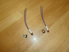 Lot2 Red 28 Volt Indicator Panel Lamp Wire Leadsnos