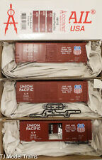 Accurail HO #8115 #8115.1 #8115.2 & #8115.3 AAR Boxcar UP (3 Pack)