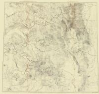 Topo Map - Colorado Utah New Mexico - USGS 1881 - 23.00 x 24.11