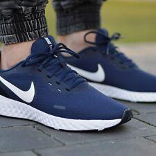 Nike Revolution 5 U Scarpe da Corsa Uomo Blu 44 EU