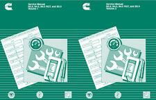 Cummins B Series B3.9  B4.5  B5.9  BT5.9  BTA5.9  Factory Service Manual  PDF CD