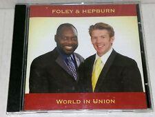 Foley&Hepburn-World in Union,CD Album,Classical,My Way,O Sole Mio- Fast Free P&P