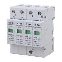 4P 20-40KA Mount Surge Protection Over Voltage Lightning Arrester SPD