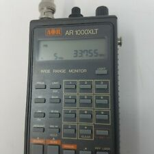 AOR AR-1000 (XLT) Handheld HF/VHF/UHF Scanner / Receiver TESTED