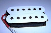 Neuf Humbucker  Neck - white  - 12 kohm pour toute guitare