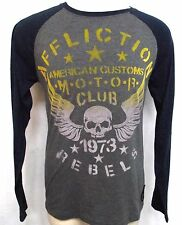 Affliction Mens Premium American Motors Club long sleeve shirt mma ufc SZ M