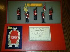 TRADITION TOY SOLDIERS #26 THE BUFFS EAST KENT REG 1890 MIB LE 2000 WITH CARD