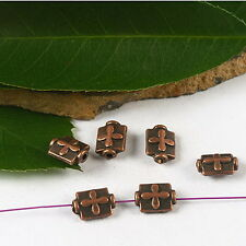 40pcs copper-tone Disc spacer beads H2261
