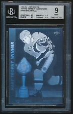 1991-92 Upper Deck Award Winner Hologram #AW3 Brett Hull BGS 9 Mint Rare