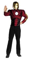 Iron Man Value Muscle Adult Costume