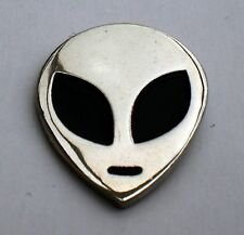 Roswell Alien Head Quality Enamel Pin Badge